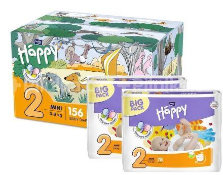 Bella Baby Happy Mini Box 78ks x 2