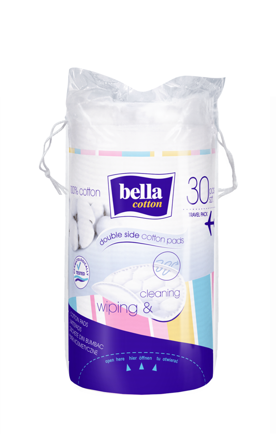 Bella Cotton kosmetické odličovací tampóny 30 ks