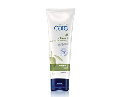 Fotografie Avon Care vyhlazující krém na ruce s olivovým olejem a provitaminem B5 100 ml