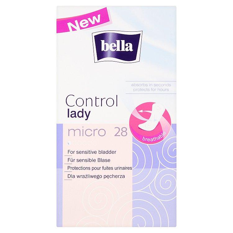 Fotografie Bella Control Lady Micro urologické vložky 28 ks
