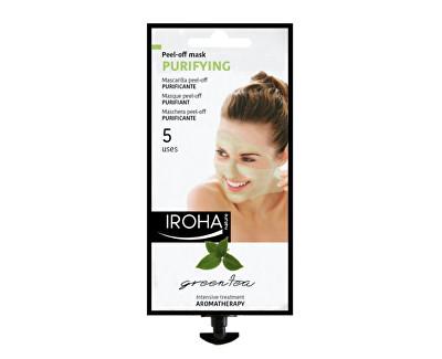 Iroha čisticí aromaterapeutická slupovací maska se zeleným čajem 25 g