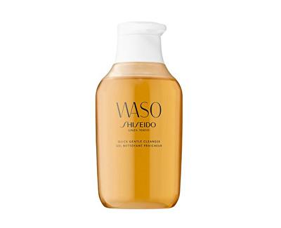 Shiseido jemný gelový odličovač make-upu s výtažkem z medu Waso 150 ml