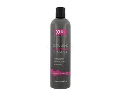XPel Čisticí šampon s uhlím pro všechny typy vlasů Charcoal 400 ml