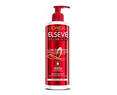L'Oréal Paris Elseve Color-Vive pečující mycí krém pro ochranu barvy 400 ml