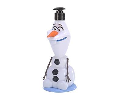 Sprchový gel a šampón 2v1 Frozen 3D Olaf 400 ml