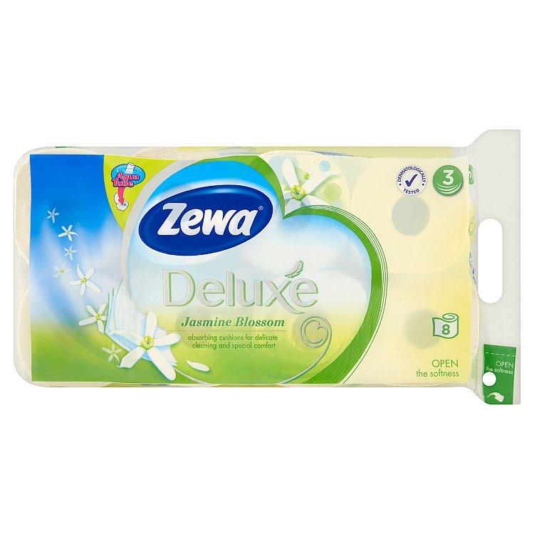 Zewa deluxe Jasmínové květy toaletní papír, parfémovaný, 3vrstvý 8x150