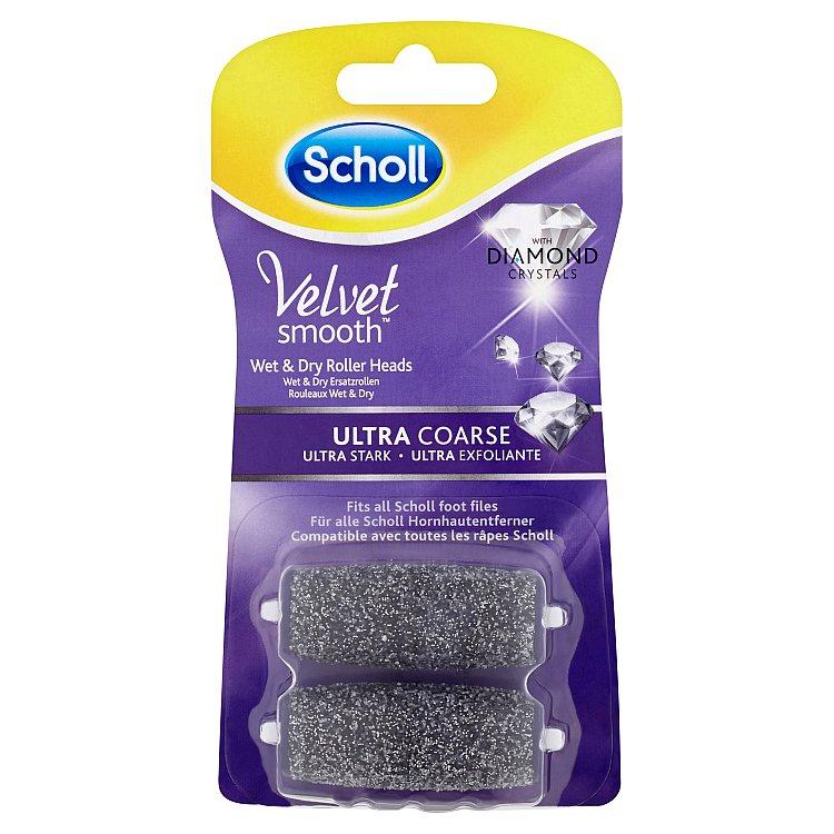 Rotační hlavice s diamantovými krystalky Velvet Smooth - ultra drsná 2 ks