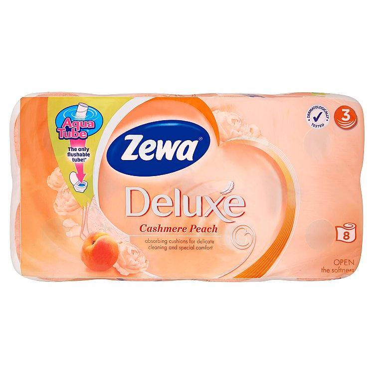 Zewa deluxe cashmere peach toaletní papír, parfémovaný, 3vrstvý 8x150