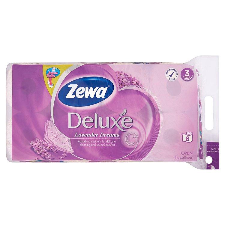 Zewa deluxe Levandule toaletní papír, parfémovaný, 3vrstvý 8x150