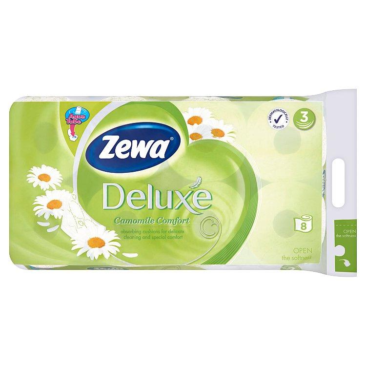 Zewa deluxe comfort Heřmánek toaletní papír, parfémovaný, 3vrstvý 8x150