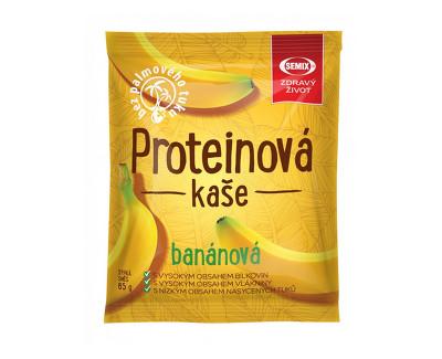 Fotografie Proteinová kaše banánová 65 g