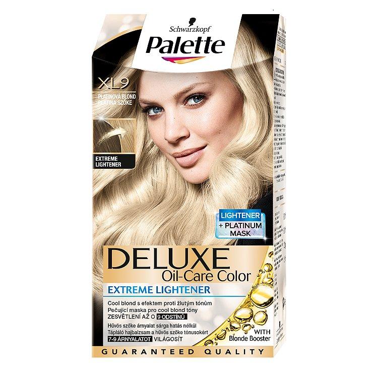 Palette Deluxe Zesvětlovač platinová blond XL9