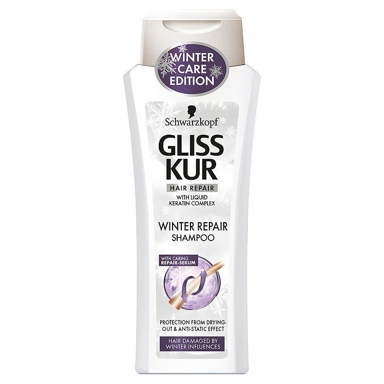 Gliss Kur Winter Repair regenerační šampon limitovaná edice 250 ml