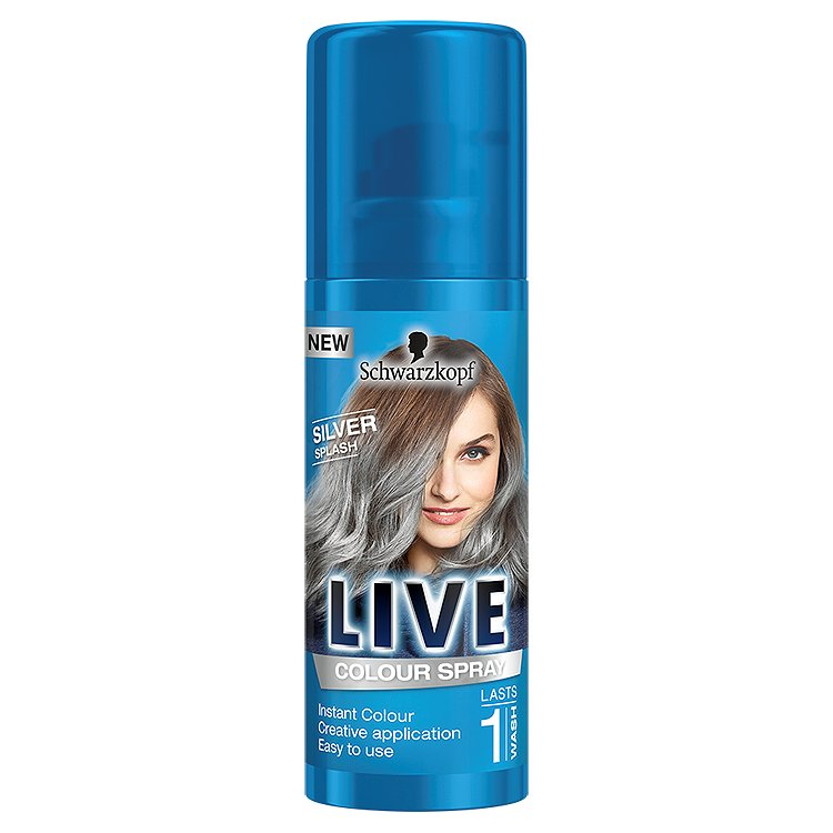 Schwarzkopf Live Color Silver Splash vlasový sprej 120 ml