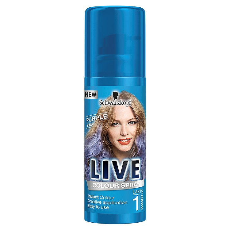 Schwarzkopf Live Color Purple Kiss vlasový sprej 120 ml