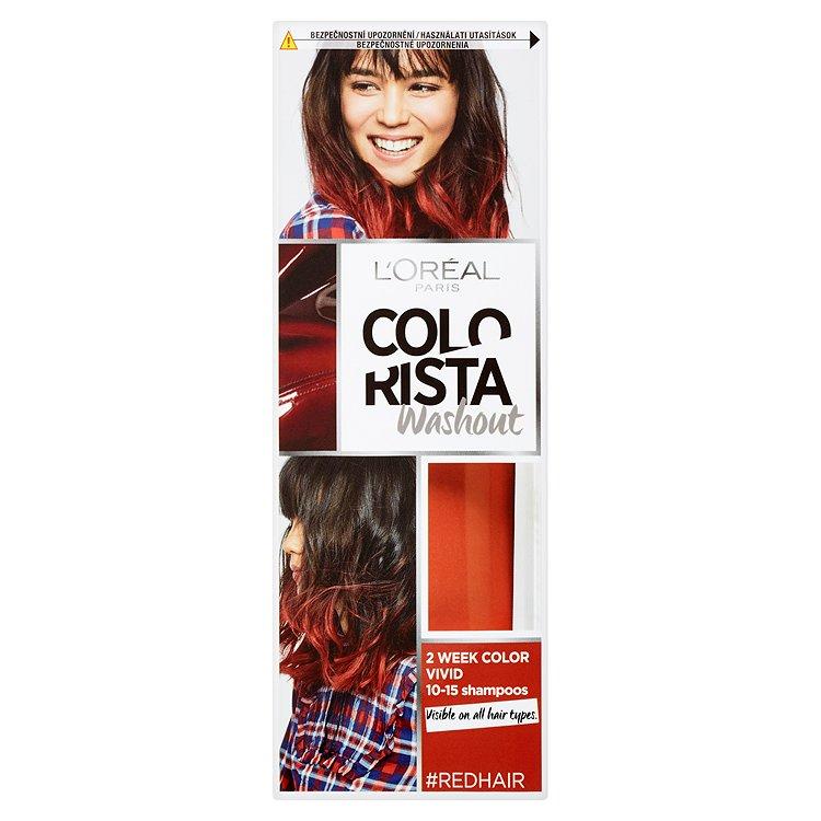 L'Oréal Paris Colorista Washout vymývající se barva Red Hair