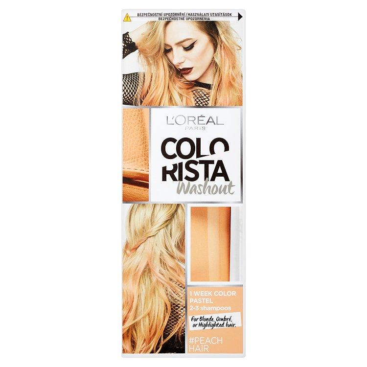 L'Oréal Paris Colorista Washout vymývající se barva Peach Hair