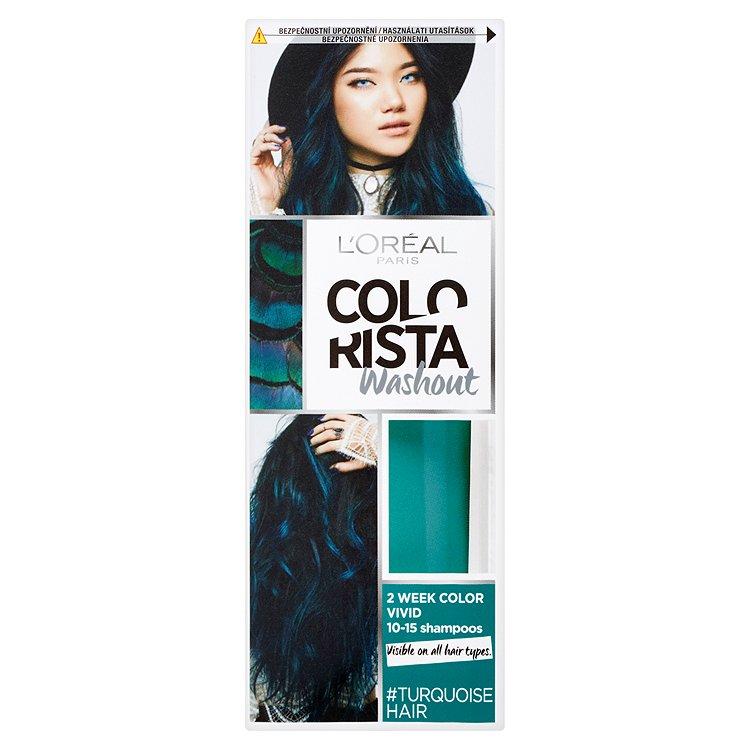 L'Oréal Paris Colorista Washout vymývající se barva Turquoise Hair