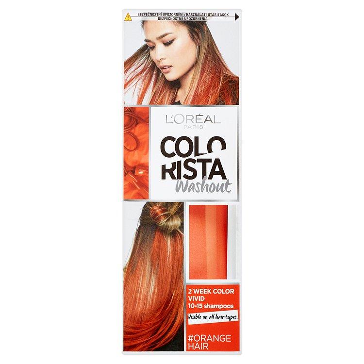 L'Oréal Paris Colorista Washout vymývající se barva Orange Hair