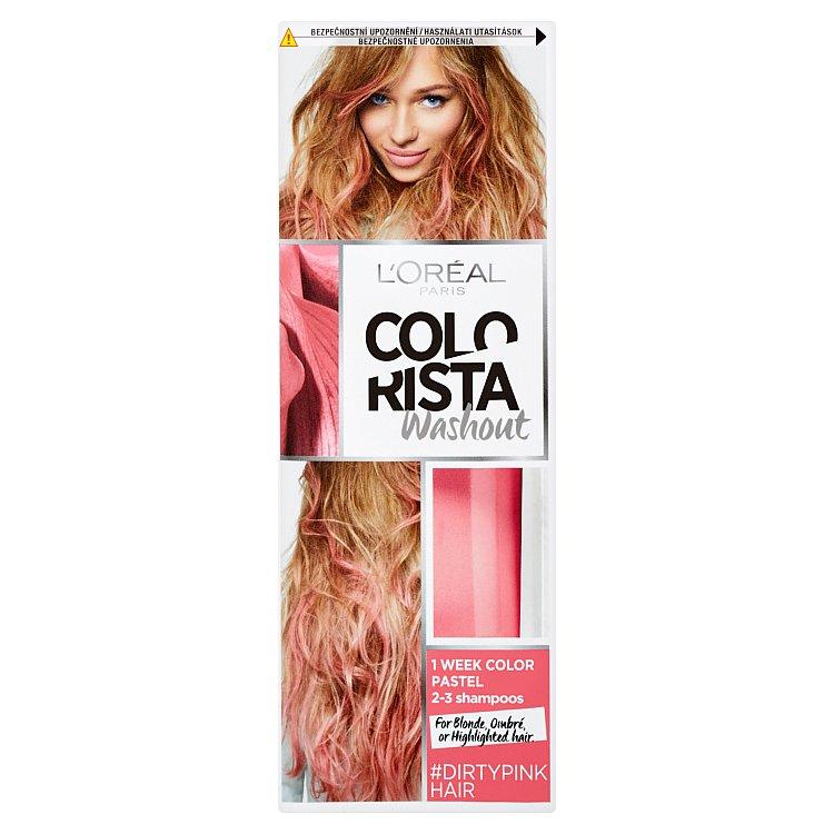 L'Oréal Paris Colorista Washout vymývající se barva Dirty Pink Hair