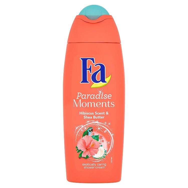Fa Paradise Moments sprchový krém s vůní ibišku 250 ml