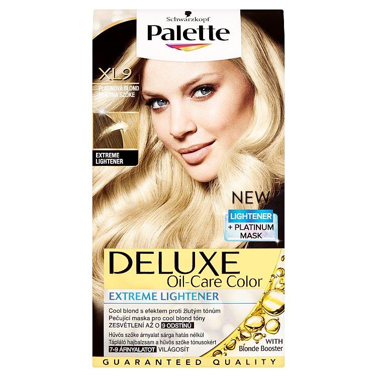 Palette Deluxe XL9 - Platinová blond 50 ml