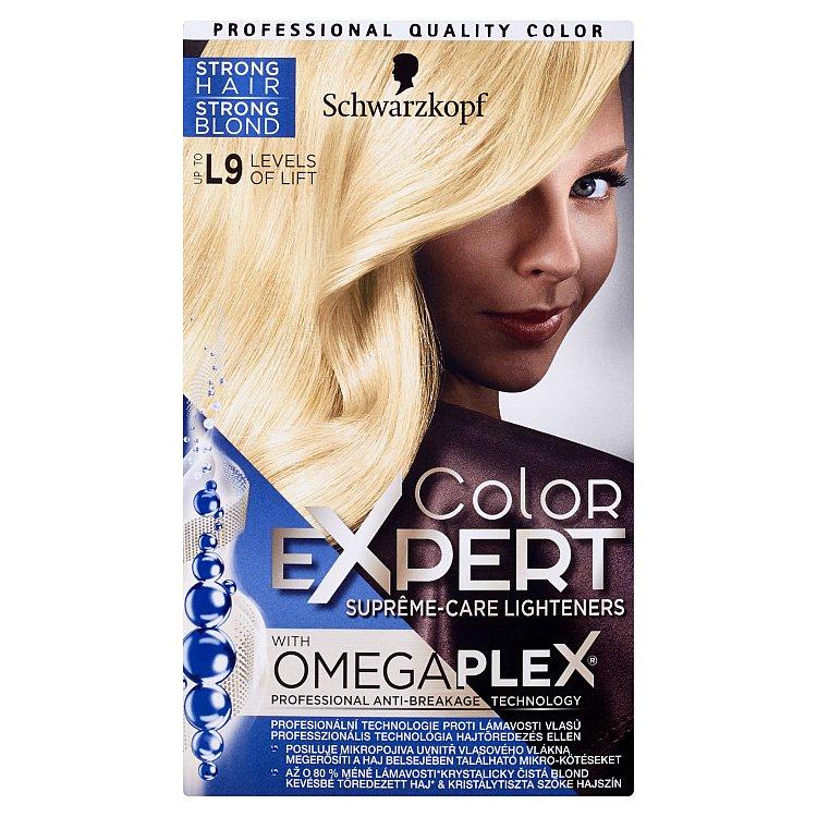 Schwarzkopf Color Expert barva na vlasy L9 96,8 ml + 20 g