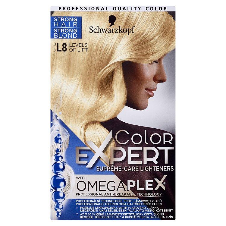Schwarzkopf Color Expert barva na vlasy L8 96,8 ml + 20 g