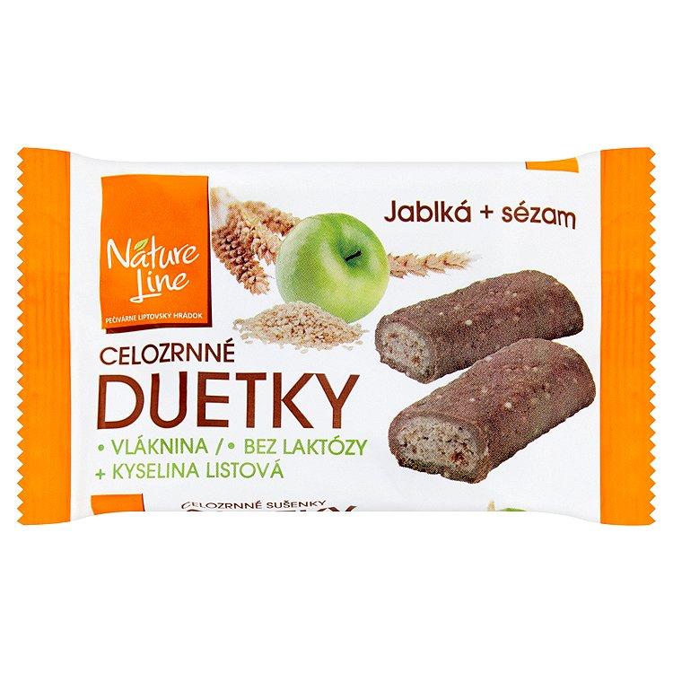 Nature Line Duetky celozrnné sušenky 50g