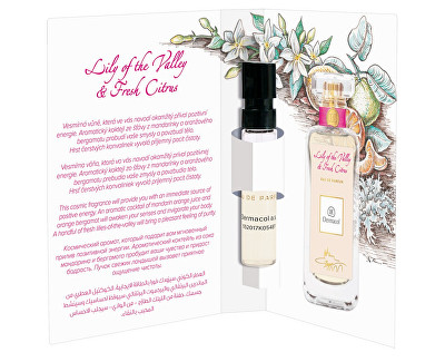 Dermacol parfémovaná voda Lily of the Valley and Fresh Citrus tester 2 ml
