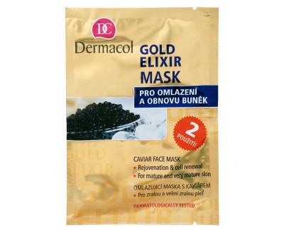 Fotografie Dermacol omlazující maska s kaviárem 2x 8 g