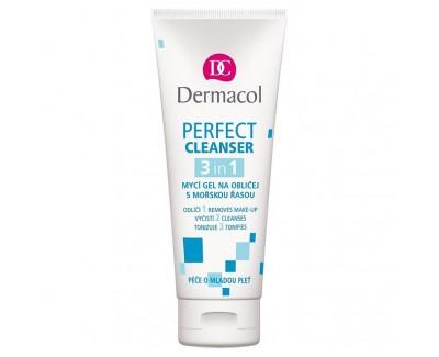 Fotografie Dermacol mycí gel na obličej s mořskou řasou 100 ml