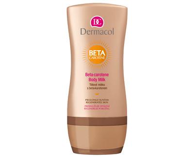 Dermacol tělové mléko po opalování s beta-karotenem 200 ml