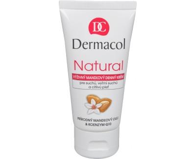 Fotografie Dermacol Natural výživný mandlový denní krém 50 ml