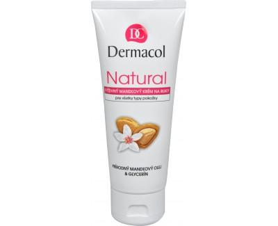 Fotografie Dermacol Natural výživný mandlový krém na ruce 100 ml