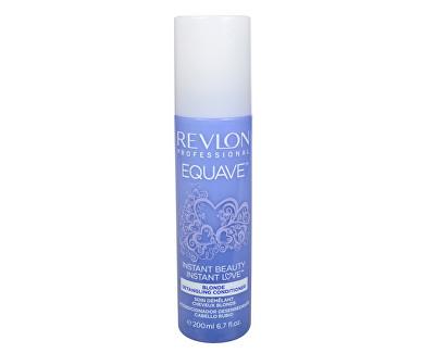 Fotografie Dvoufázový kondicionér pro blonďaté vlasy Equave Instant Beauty (Blonde Detangling Conditioner) 200 ml