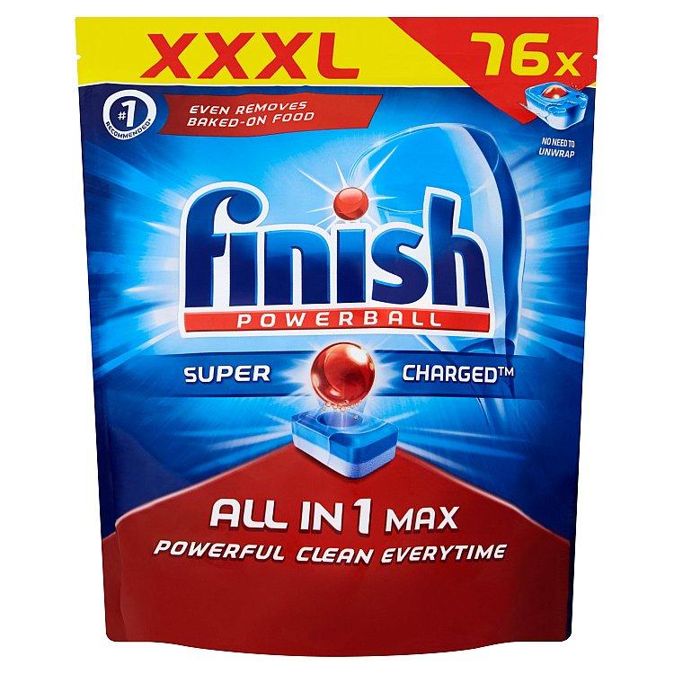 Finish All in 1 Max tablety do myčky 76 ks