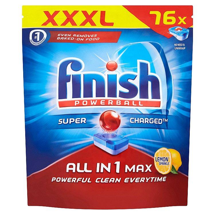 Finish All in 1 Max Lemon tablety do myčky 76 ks