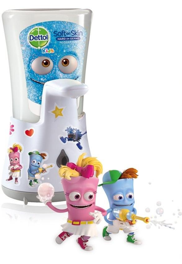 Dettol Kids bezdotykový dávkovač mýdla s nápní dobrodruh 250 ml