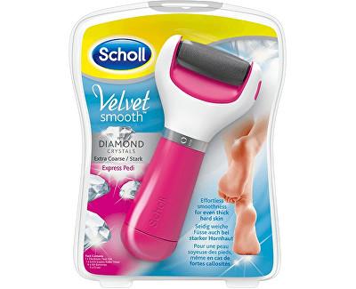 Scholl Velvet Smooth Diamond elektrický pilník na chodidla extra hrubý