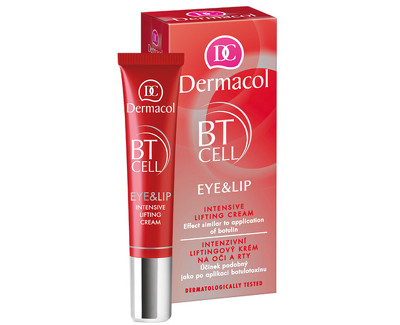 Fotografie Dermacol intenzivní liftingový krém na oči a rty BT Cell 15 ml