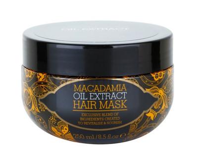 Fotografie Revitalizační a vyživující maska pro všechny typy vlasů s makadamiovým olejem 250 ml