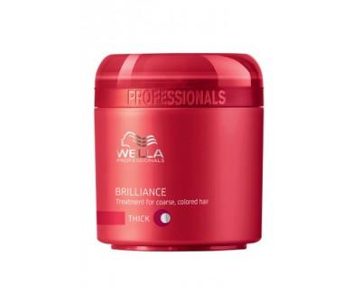 Maska pro silné barvené vlasy Brilliance (Treatment For Coarse Colored Hair) 150 ml