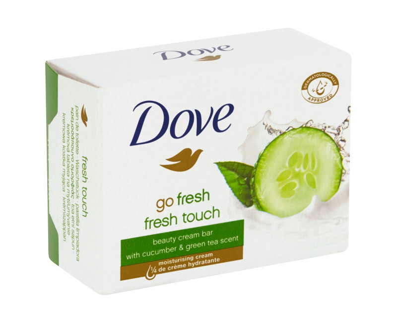 Dove Go Fresh krémová tableta na mytí 4 x 100 g