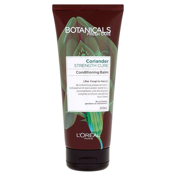 Fotografie Botanicals Fresh Care Strenght Cure balzám pro slabé a jemné vlasy 200 ml