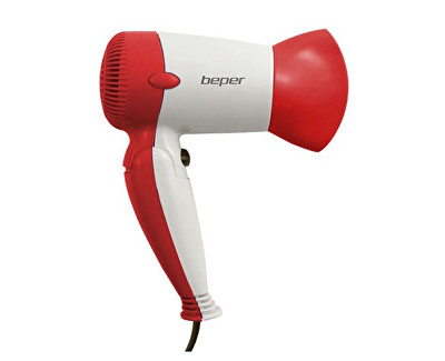 Cestovní fén na vlasy 40981 - červený