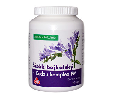 Šišák bajkalský + Kudzu komplex PM 90 kapslí