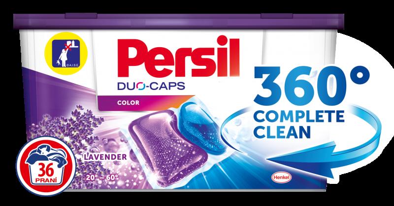 Persil DuoCaps Lavander Color kapsle, 36 praní 36 ks