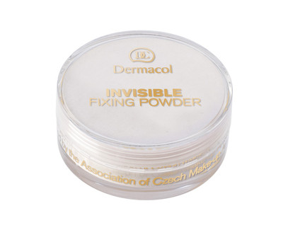 Dermacol lehký fixační pudr (Invisible Fixing Powder) White
