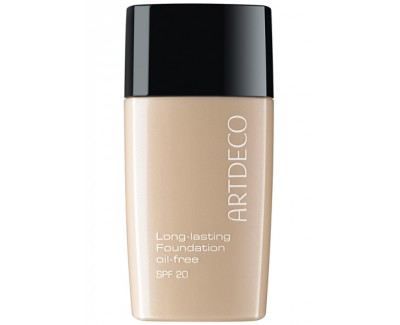 Fotografie Artdeco Long Lasting Foundation Oil Free make-up odstín 483.03 vanilla beige 30 ml